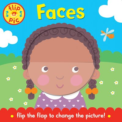 Book cover for Flip-a-Pic: Faces